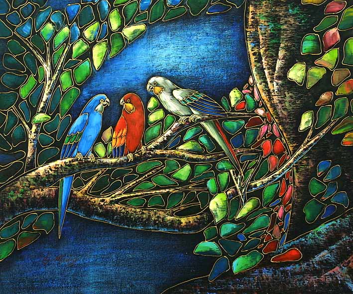 Small Tropical Birds