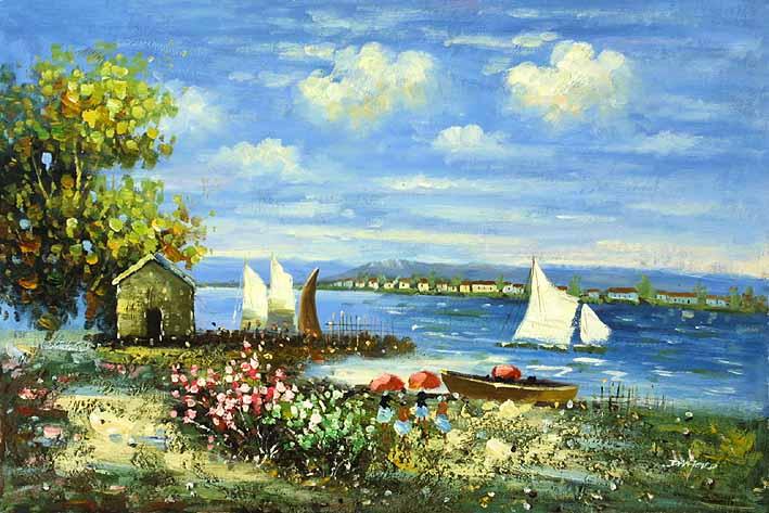 Summer Day at the Lake