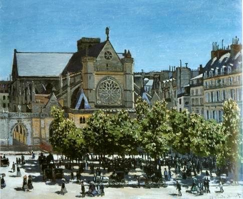 Saint church of Saint-Germain-lAuxerrois,1867