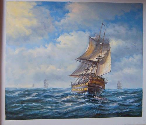 sail ship, warship , jalor