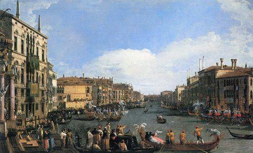 Regatta on the Canal Grande