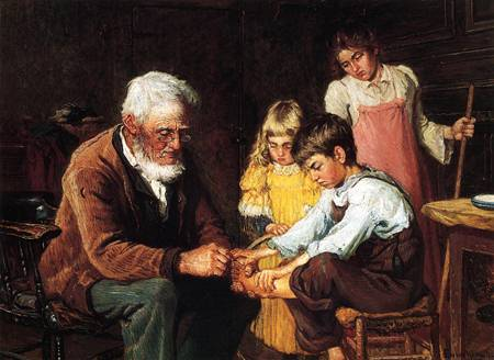 Pulling out the Splinter 1894
