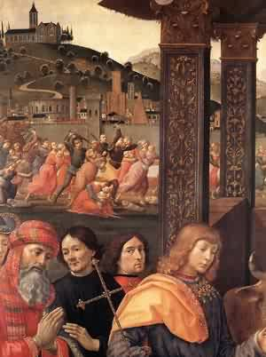 Adoration Of The Magi (Detail) 2 1488