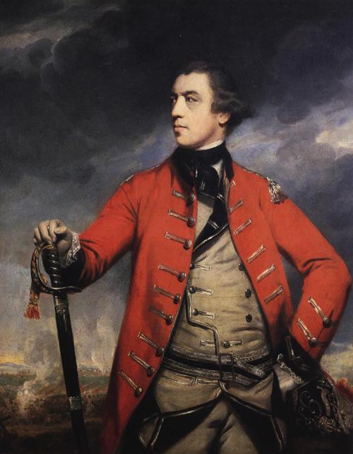 General John Burgoyne 1766