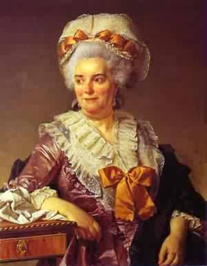 Portrait Of Madame PeCoul Mother In Law Of The Artist 1784