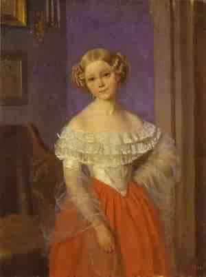 Portrait Of O I Demoncalle 1851