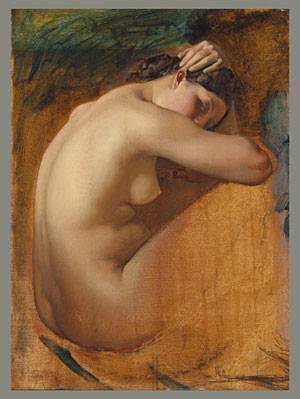 Study of a Female Nude 1840