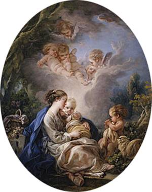 Virgin and Child with the Young Saint John the Baptist and Angels 1765