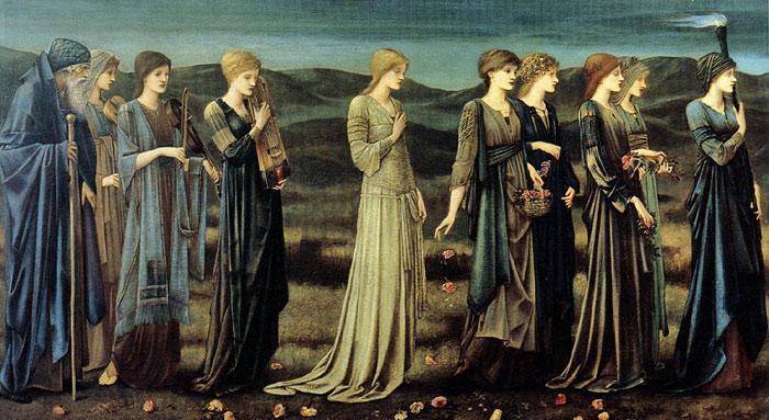 ladies in the queue