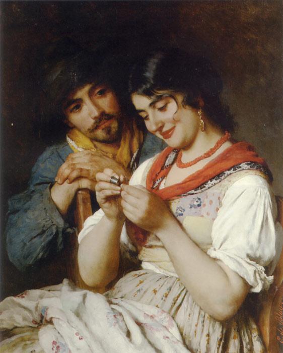 Bespruzhnaya Ludmila - Spring slush - Paintings for sale art gallery - buy paintings, painting art