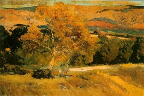 landscape painting, a Joaquin Sorolla Bastida paintings reproduction