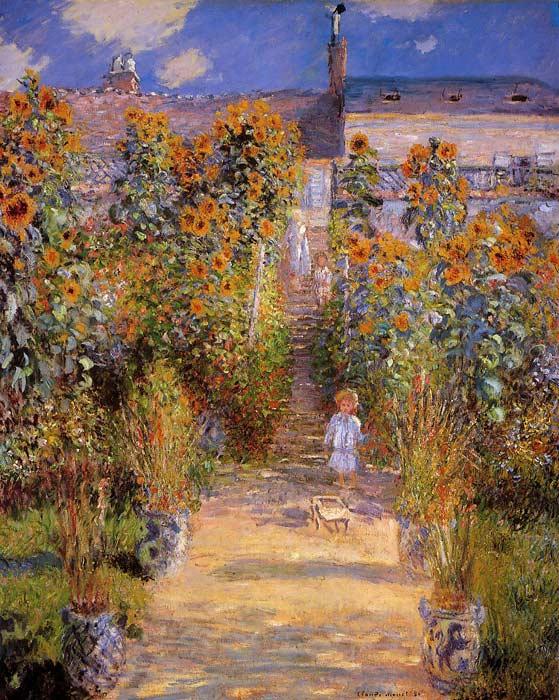 Monets Garden at Vetheuil