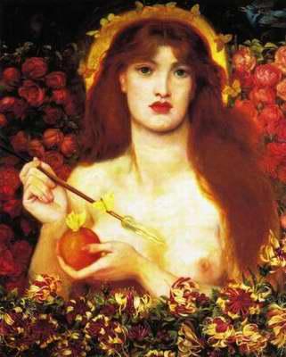 Venus Verticordia painting, a Dante Gabriel Rossetti paintings reproduction, we never sell Venus