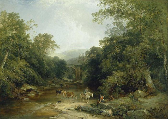 Boddington Oil Painting Reproductions - The Vale of Ashburton, South Devon
