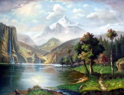 Landscape Painting oil painting on canvas Landscape oil painting