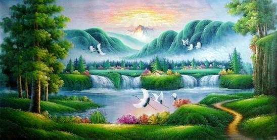 Landscape Paintings fine art Seascape Paintings wholesale oil paintings Landsca