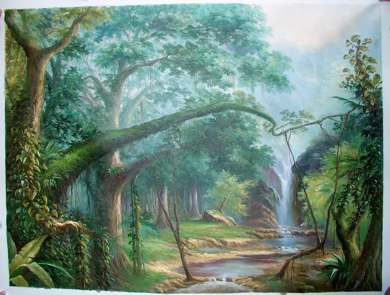 Landscape Painting Italy Landscapes Landscape oil painting