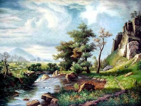 landscape paintings wholesale oil paintings Landscape oil painting