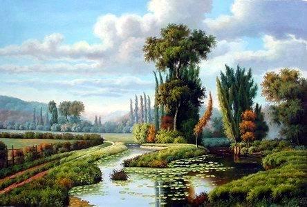 landscape pictures landscape paintings Landscape oil painting