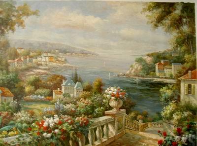 garden oil paintings