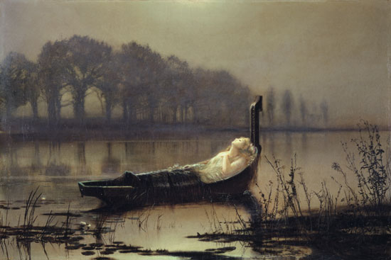 The Lady of Shalott, John Atkinson Grimshaw