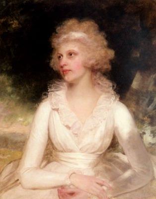 Portrait Of Sophia Anne Raymond Barker