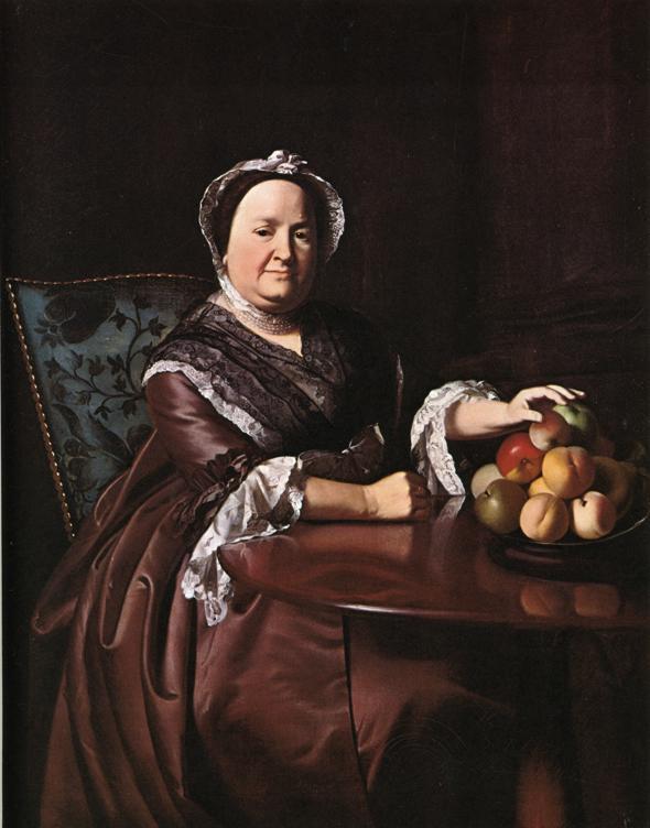 Mrs Ezekiel Goldthwait (Elizabeth Lewis). 1771