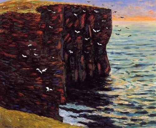 The Black Cliffs at Thurso, Ecosse