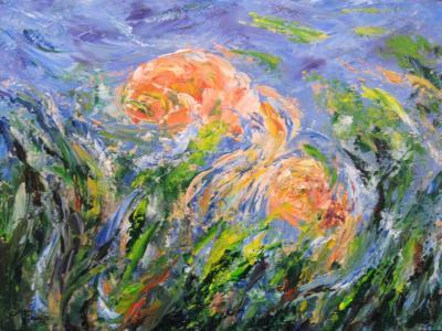 Goldfish, Abstract Art