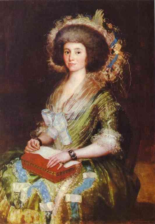 Portrait of Senora Bermusezne Kepmasa