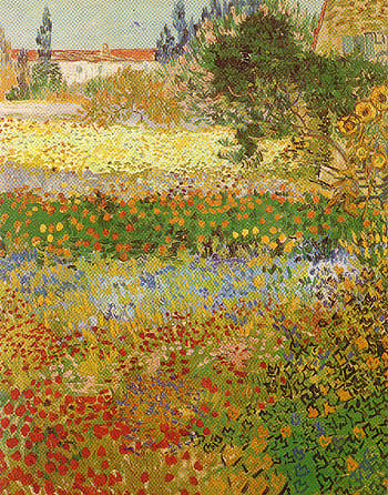 Vincent van Gogh Garden in Bloom 1888