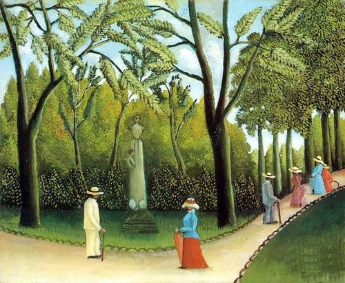 Luxembourg Garden,oil paintings online