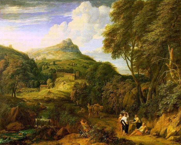Mountainous Landscape,oil paintings online