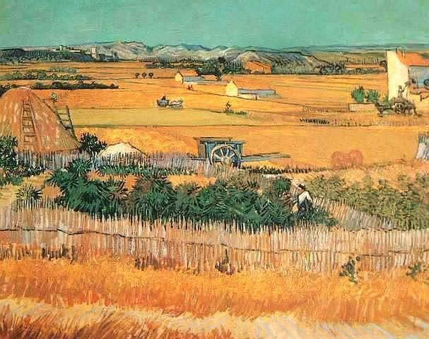 Harvest Landscape,oil paintings online