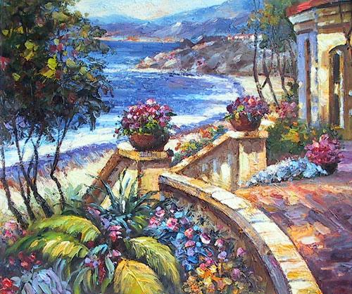Mediterranean Terrace View