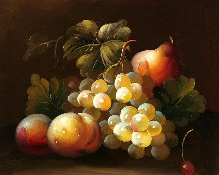 Classic Fruit Still Life