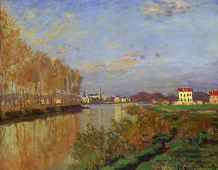 The Seine at Argenteuil (Vanilla Sky)
