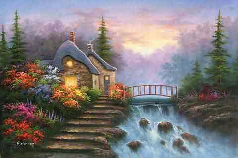Cottages Bridge House Village