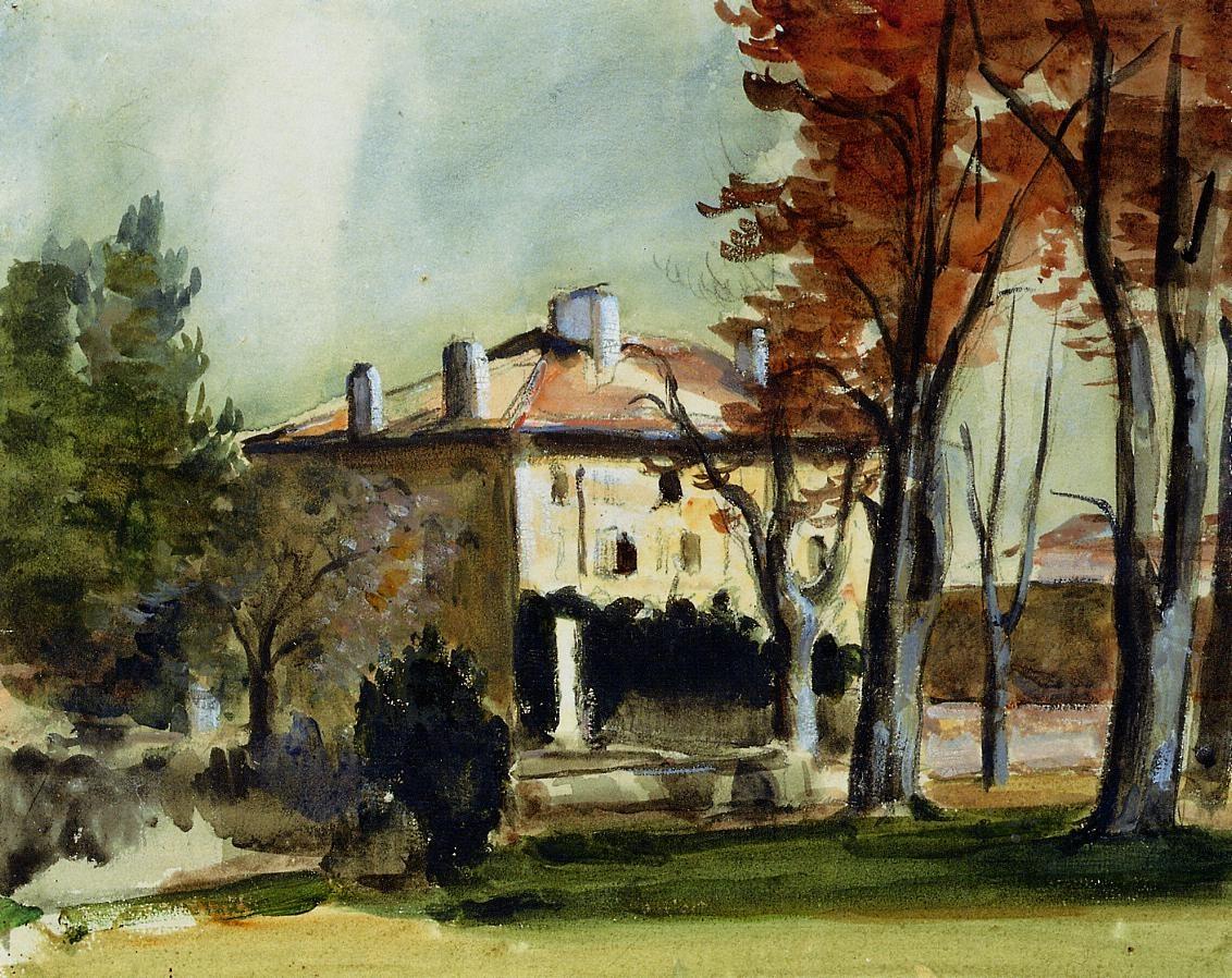 The Manor House at Jas de Bouffan