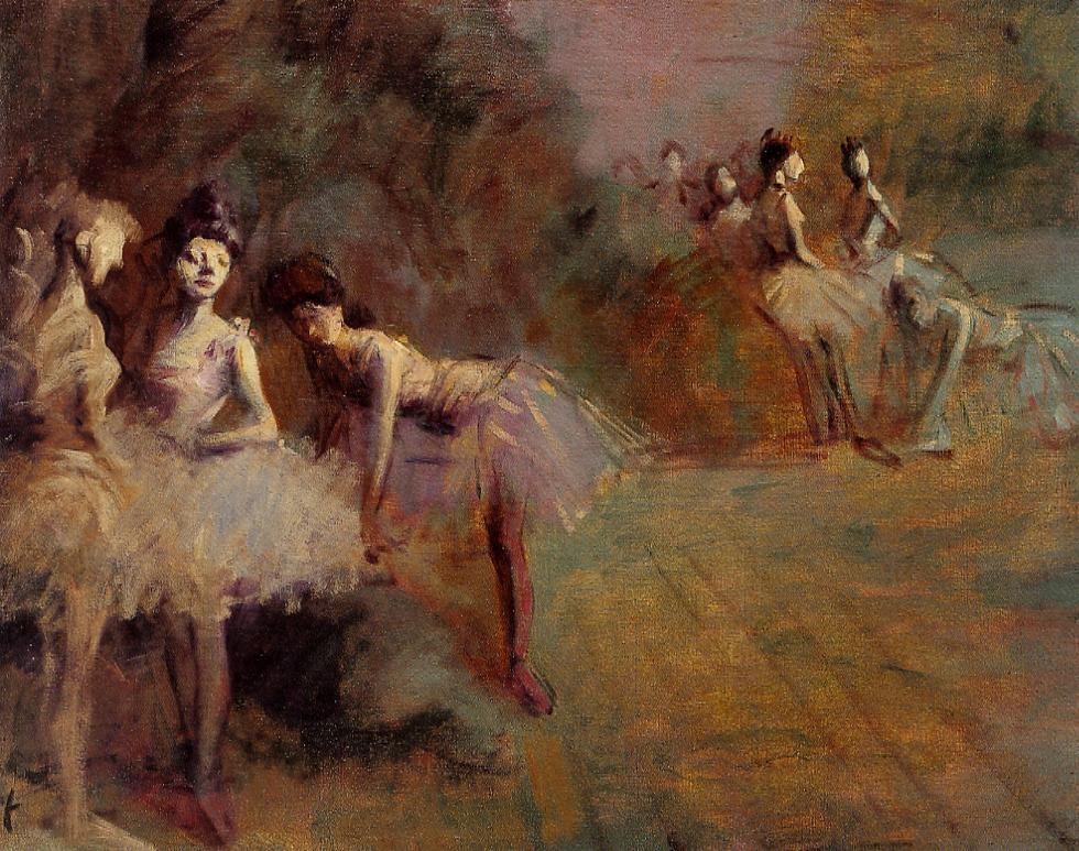 Dancers Resting