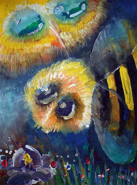 oil paintings online, the Iris