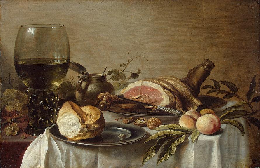 Breakfast with ham 1647